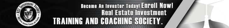 REI Investors Society Training, Coaching and Mentorship To Help You Succeed!